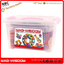 High Quality ABS DIY Toys Magnetic Blocks