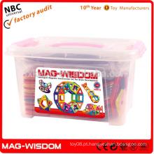 Alta qualidade ABS DIY Brinquedos Blocos Magnetic