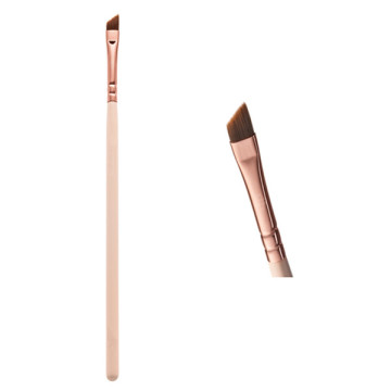 Rose Gold Handle Brow / Wing Eyeliner Brush (E317-R)
