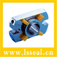 Durable Metal bellows mechanical seal(HFJ14EC02F) equip with SIC rings to prevent self-rotating and flushing devices