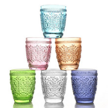 Hand Made Solid Colored Glass Cup