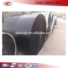 DHT-165 cheap v cleat rubber belt chevron conveyor belt price for sale