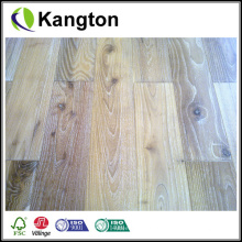 Antique Handscraped Engineered Wood Veneer Floor (piso de ingeniería)