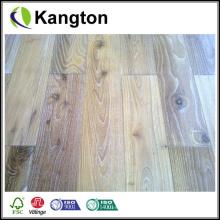 Assoalho de folheado de madeira engenharia Handscraped antigo (piso de engenharia)