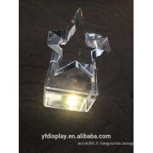 Artware acrylique clair, souvenir acrylique