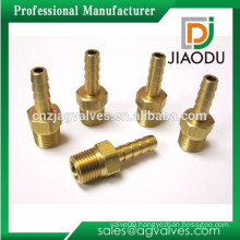 wholesale Price Custom Made Lead Free Nickel Plated threaded Forged brass flange hose barb Fittings For for plastic hoses