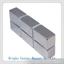 Tamaño grande N35 imán de NdFeB permanente con la galjanoplastia de níquel y Zinc