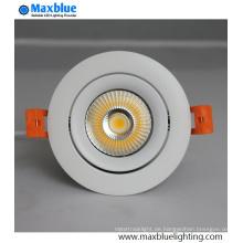 12W CREE COB LED Einbauleuchte dimmbar für Hotelbeleuchtung