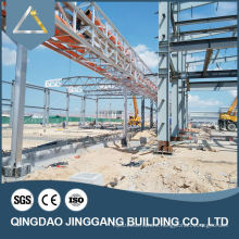 Low Cost Cheap Prefab Steel Structure Warehouse Port Klang