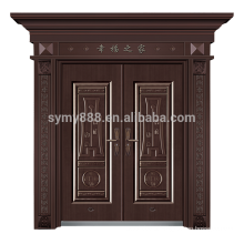 senior custom European style castle steel front main door with low price