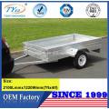 remorque de voiture en aluminium de haute qualité 7x4 à vendre