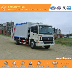 FOTON Euro 3 rear loader garbage truck