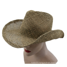 2015 New Style Cowboy Straw Hat (GK15-S1067)