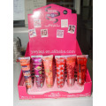 6pcs/set Promotion humidité Sparkle Soft Tube Lip Gloss Set