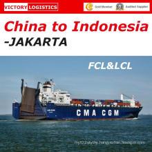 Shipping/Sea Freight/Ocean Freight From Shenzhen/Guangzhou/Shanghai/Ningbo/Qingdao to Jakarta