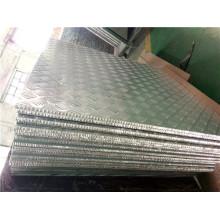Нескользящая / антискользящая алюминиевая сотовая доска для этажа