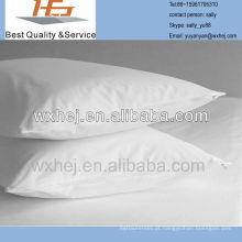 Puro algodão Percal Teflon revestido ou 180 Thread Percale Polycotton Pillow Protector (par)