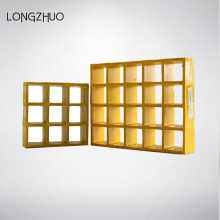 Square Mesh Fire Retardant FRP Grating