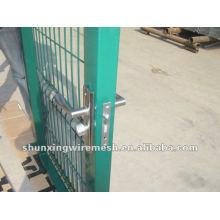 Конструкции ворот с порошковым покрытием