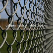 Fábrica de pvc recubierto cadena enlace valla (fábrica directa)