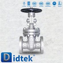 Didtek Flansch-Absperrschieber für Ölraffinerie