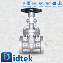 Didtek Stainless Steel OS & Y Rising Stem Flanged Handwheel Operate Gate Valve
