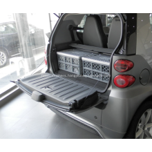 Plastic Grocery Storage Box with Lid for Car