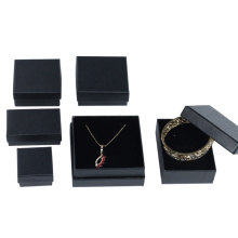 Custom logo black free sample jewelry box for wholesale
