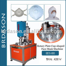 Machine de masque de visage en forme de coupe