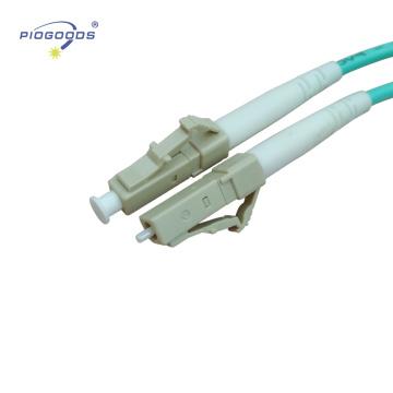 LC / UPC multi mode intérieur OM3 Haute Qualité Fibre Optique LC Patch Cord multimode PVC / LSZH veste 2.0mm 3.0mm chine usine fournisseur