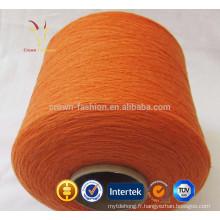 100 Fils de chèvre mongole en pure laine de cachemire