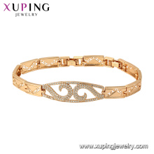 75781 Xuping New arrival gold plated luxury style Elegant fashion Bracelet for women