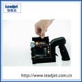 pequeña impresora portátil del código de barras del chorro de tinta de mano