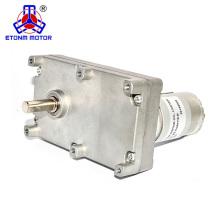 Niedriger Drehzahlstarker elektrischer flacher DC-Getriebemotor