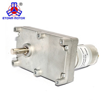 Low RPM Big Torque Electric Flat DC Gearbox Motor