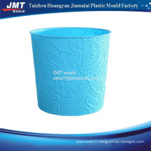 injection plastic garbage bin mould