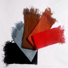 Heißer Verkaufsart und weise Hanf-Schal mit Quasten