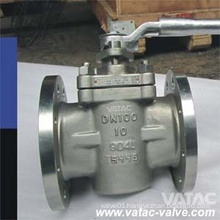 Lever Operated Soft Seat Bellow Plug Valve