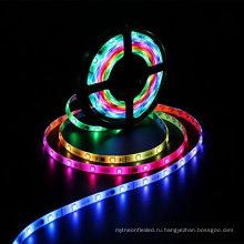 Новый 5050 СМД RGB свет водить 30led/М полосы света ws2811 IC в погоне за Магия цвета мечта фонари с заводской цене