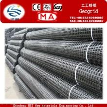 Fabricante Geogrelha de Biaxial do PP / geogrelha Uniaxial / geogrelha da fibra de vidro / geogrelha do animal de estimação na venda