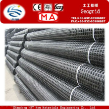 Hot Sale PVC Coated Polyester Geogrid with High Tensile