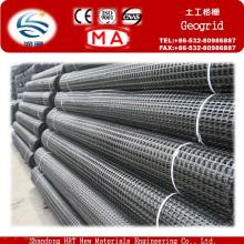 Venda quente PVC Revestido Poliéster Geogrid com Alta Tração