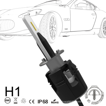 2018 new Super mini auto systems headlights 3600lm b6 h1 h3 led lighting h7 bulb
