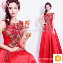 2018 New Dazzling Sleeveless Appliqued A line Evening Party Cocktail Dress