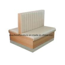 Causeuse blanche à deux côtés pour canapé-lit