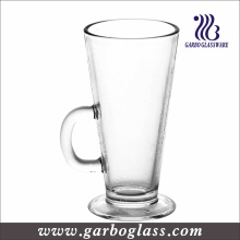 260ml Irish Coffee Mug, Clear Cappuccino Glass Cups (GB093409)