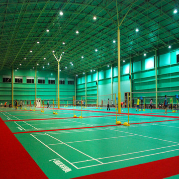 Badminton Court BWF Certification PVC Sports Flooring