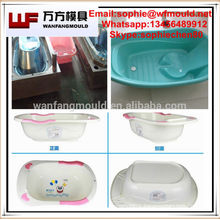 high quality baby bathtub plastic mould Plastic baby bath tub injection mold in Huangyan