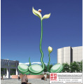 Sculpture en acier inoxydable Grand Plaza