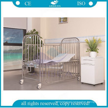AG-CB014 two function high standard stainless steel structure kid bed